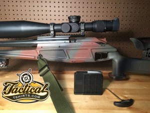 Blaser Tactical 2 with 338 Lapua installed.