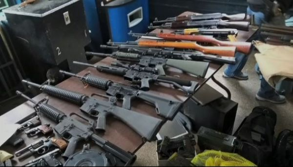 Confiscated Gun Collection NYC