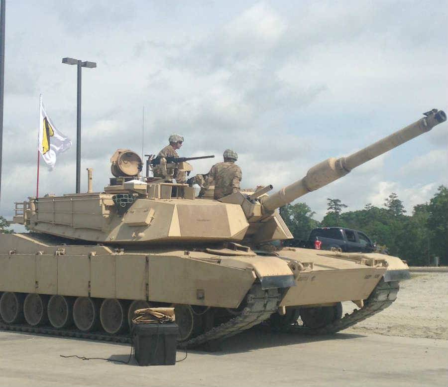 M1 Abrams crew at the 2016 Sullivan Cup