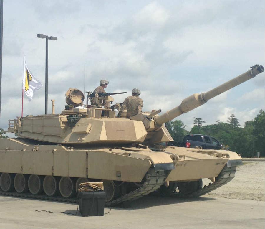 M1 Abrams crew at the 2016 Sullivan Cup