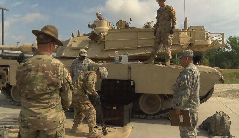 M1 Abrams crew at 2016 Sullivan Cup