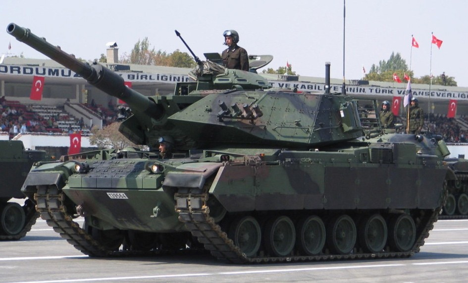 Standard Turkish M-60T Sabra tank based off the US M-60 Patton