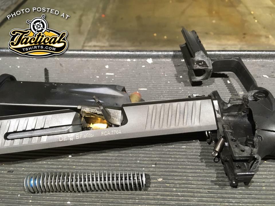 Walther PPQ Catastrophic Failure.