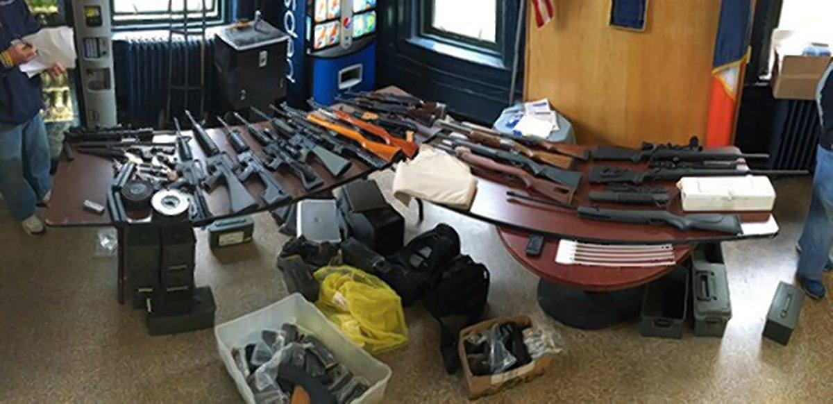 Confiscated Gun Collection in NYC