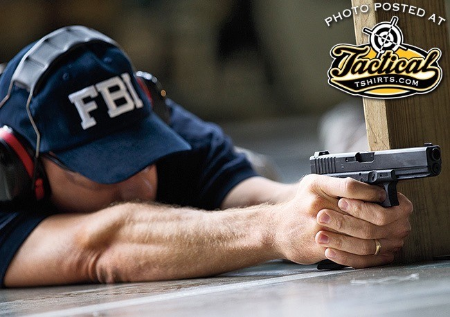 Shooting Glock at FBI Academy