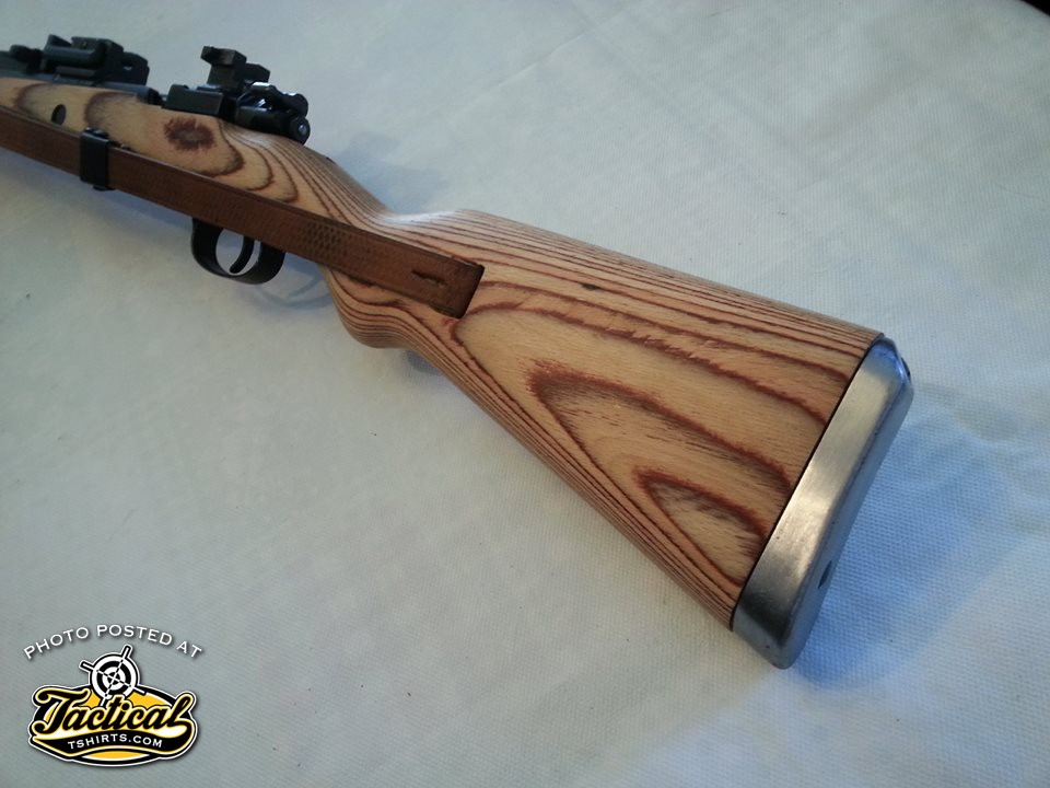 While the figure of the wood looks good, this is not an expensive rifle stock.