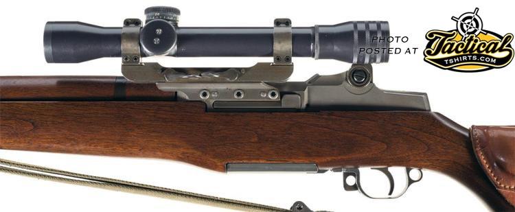 M1 Garand Sniper Mount