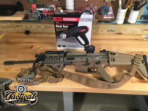 SCAR 16 before rail removed.