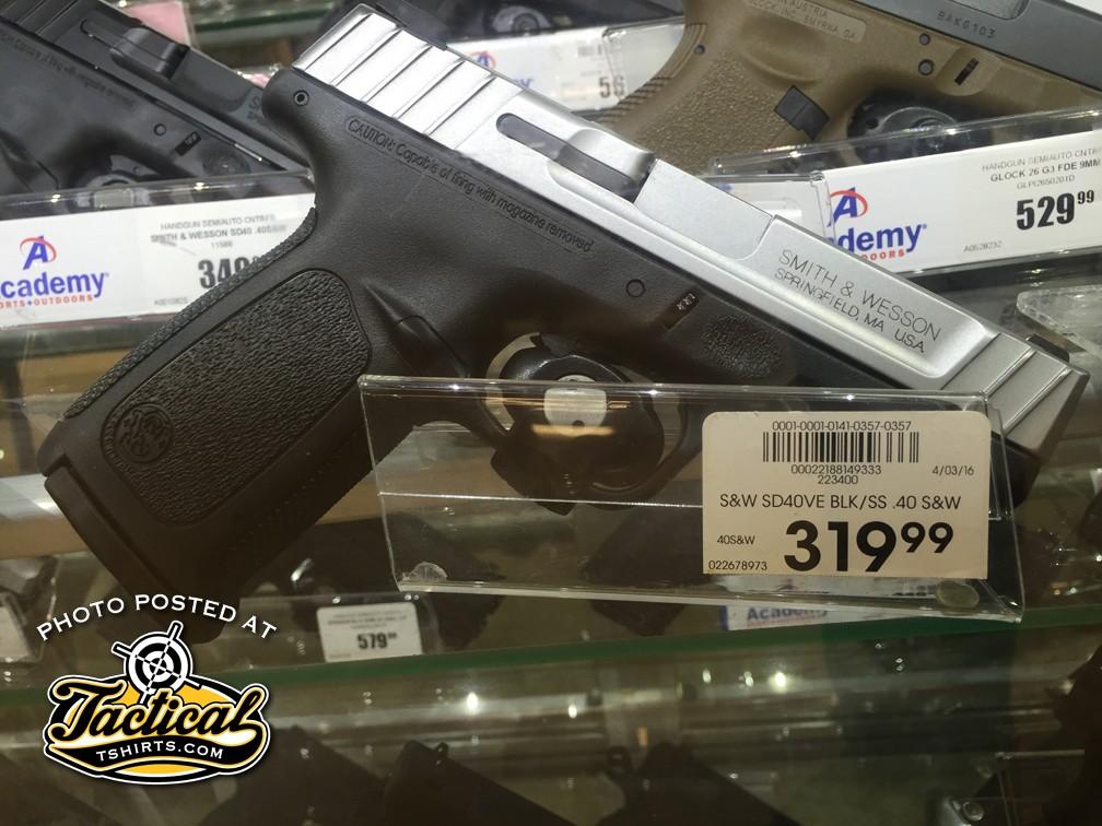 Smith & Wesson SD Pistol $319.