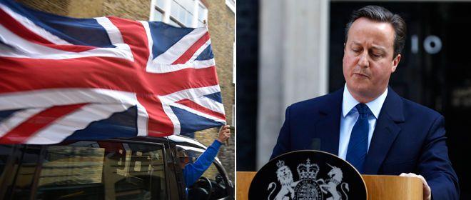 David Cameron of UK Resigns