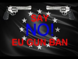 EU Gun Ban