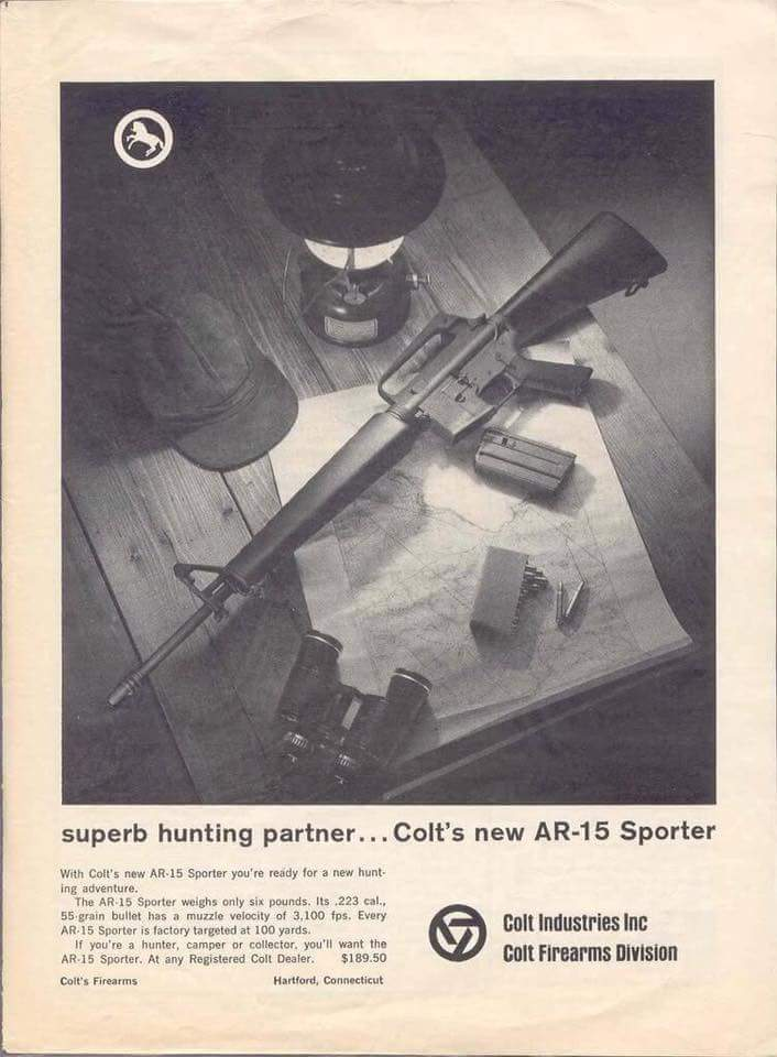 AR's have been for sale to the public from the beginning of their development.