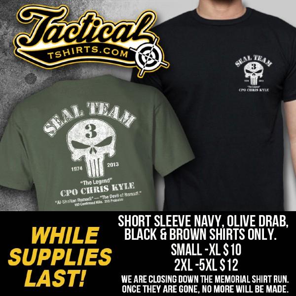 The Chris Kyle - Chad Littlefield Memorial Shirt