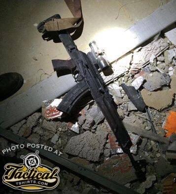 Dallas Black Lives Matter AK-74?
