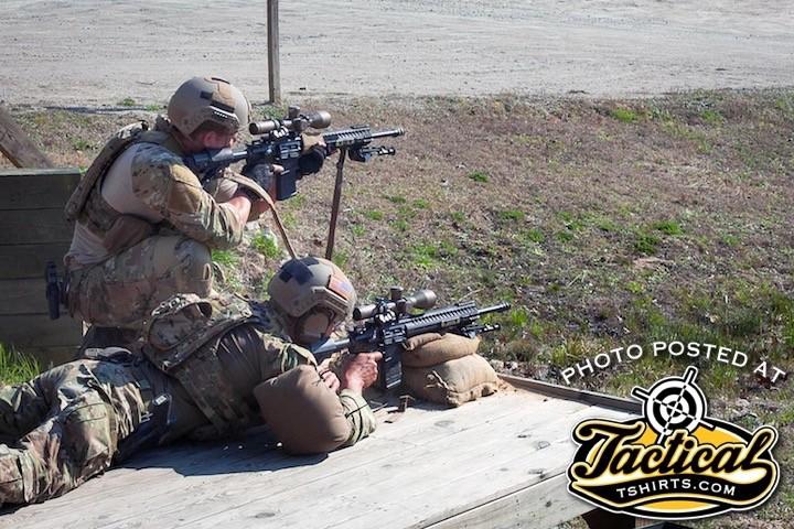 US SF Troops with Glocks.