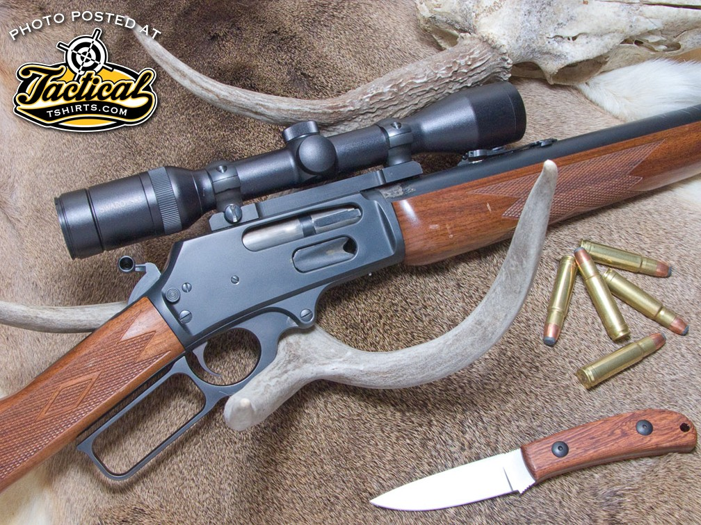 Scott's .400 Marlin wildcat duplicates the ballistics of the old .405 Winchester that Teddy Roosevelt used for rhinoceros.