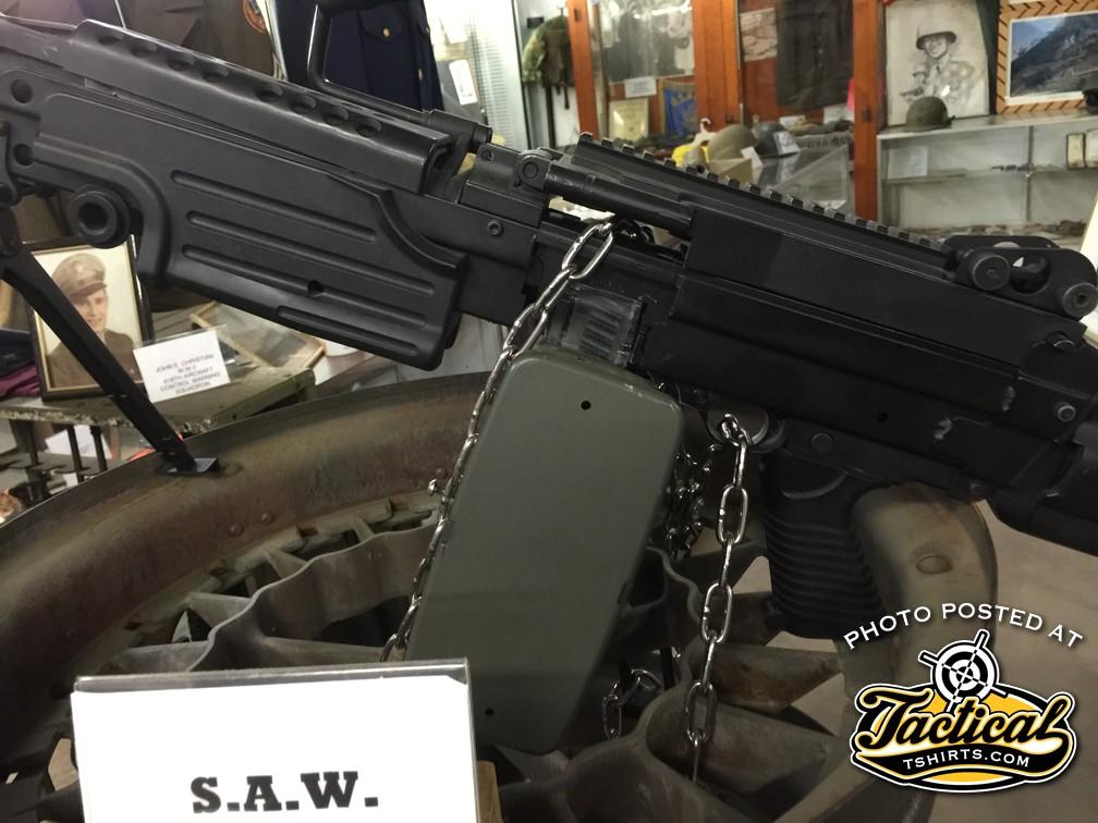 22LR M249 SAW Trainer