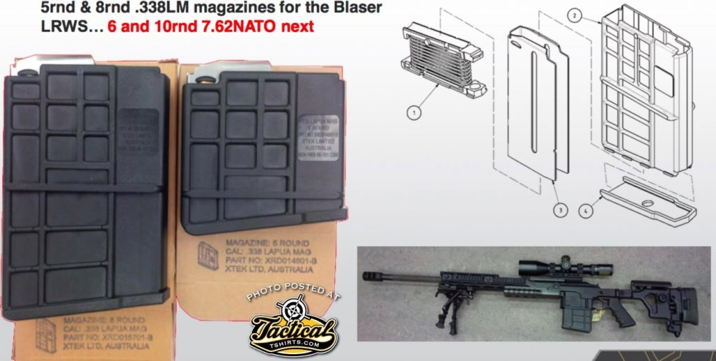 Boom! The AUS Extend Blaser Tactical 2 Magazine