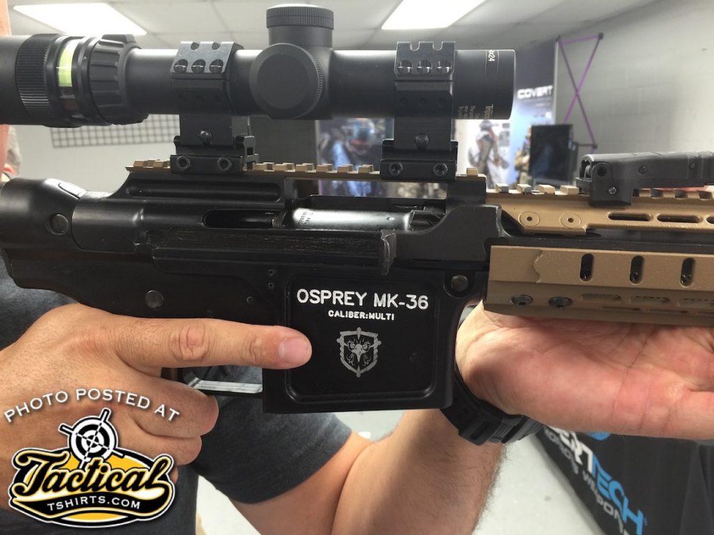 Osprey MK-36 Rifle. M-14 & M-16 Combine