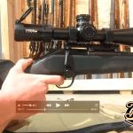 Video — Testing Cheek-Weld / Eye-Relief Blaser R8
