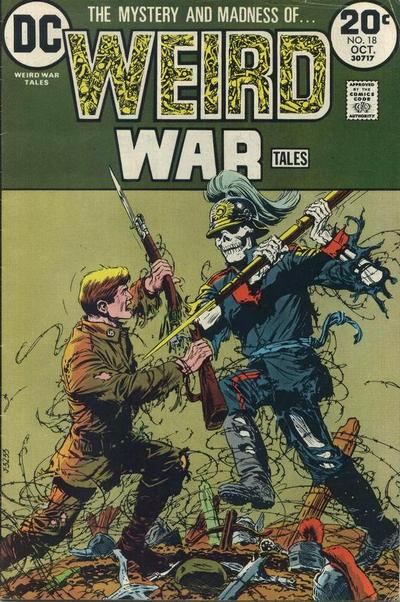 Weird War Comics. One of my childhood favorites.