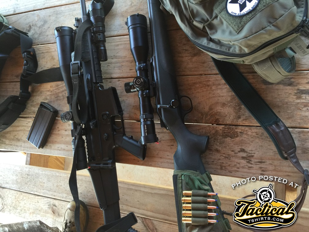 SCAR 17 & Blaser R8 Pig Hunt