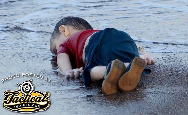 Infamous dead Syrian boy who got most ISIS Jihadis into Western Europe.