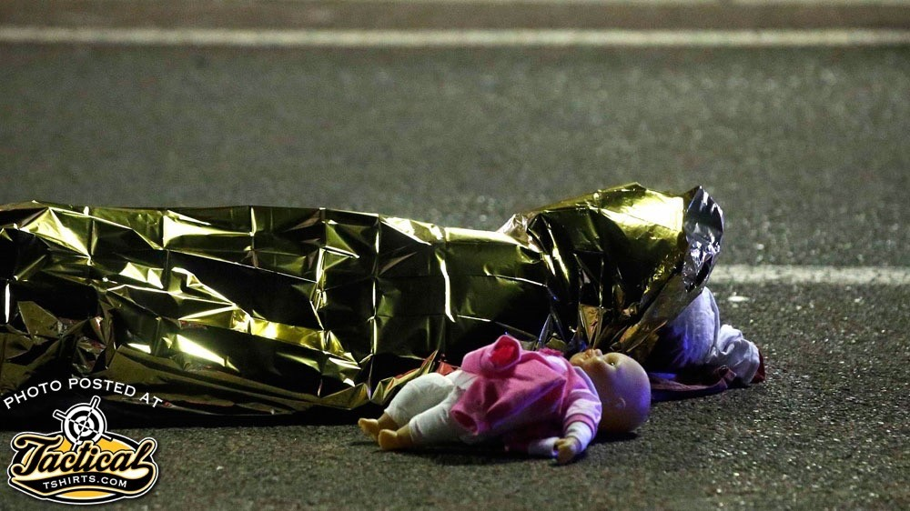 Child killed by ISIS in France. Notice something different? You should.