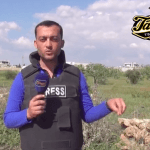 Video – Reporter Loses Eye To Shrapnel