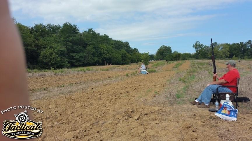 Huge field we hunted in.
