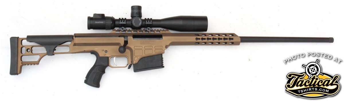 Though it looks unconventional, the Barrett 98B LW is at its core a conventional bolt-action rifle.