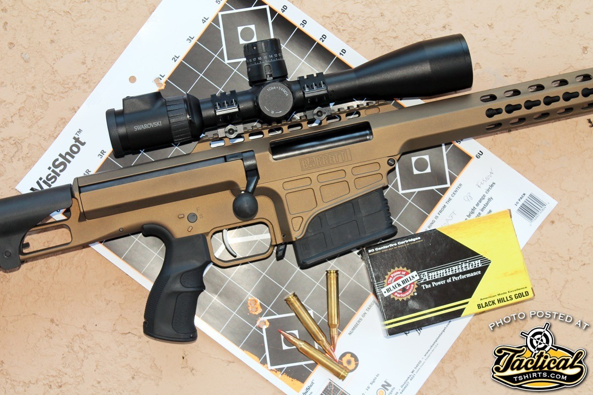 Accuracy from the 98B LW is very good, regularly offering sub-MOA performance.