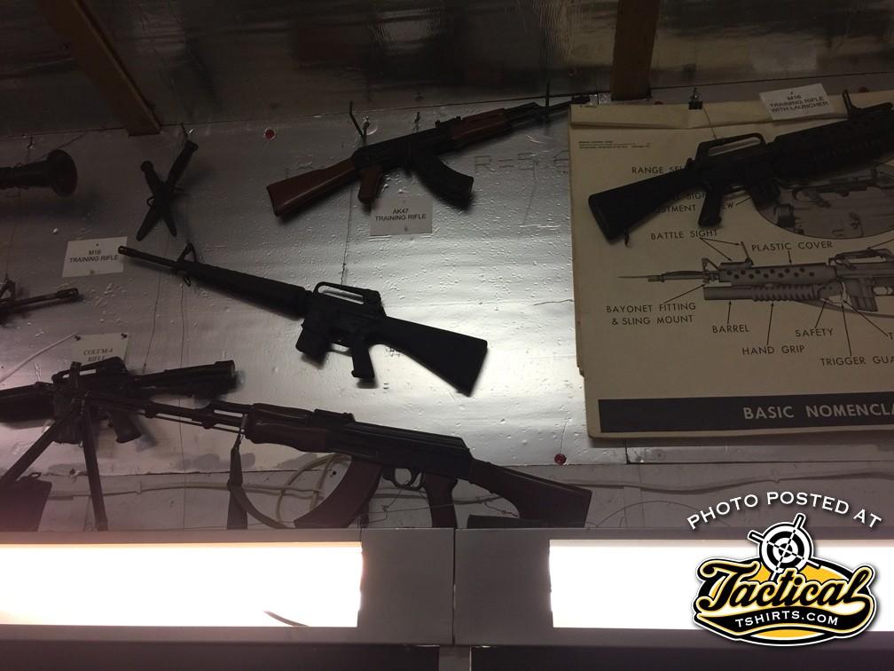 Inert Military Training Rifles