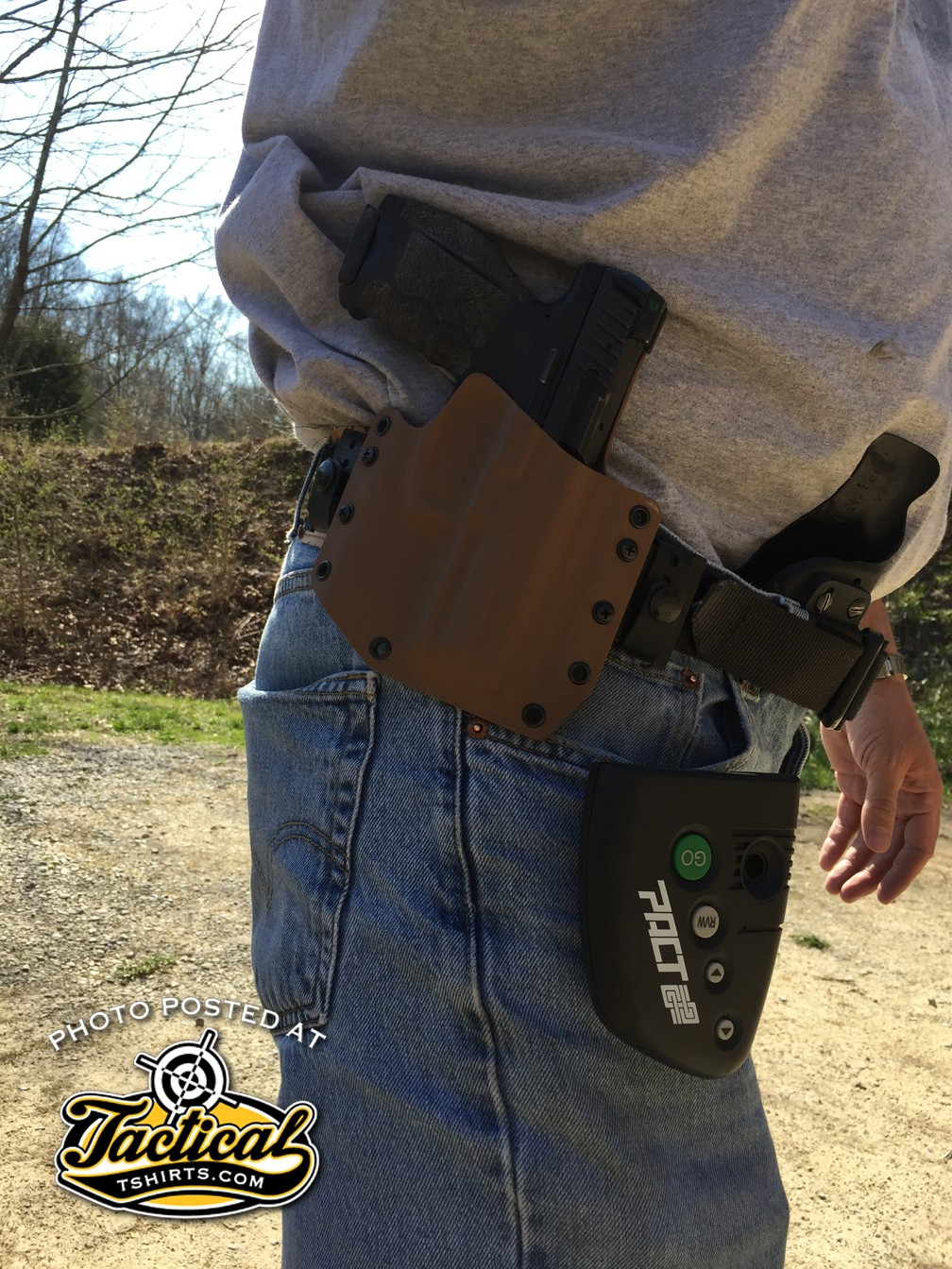 Notice two holsters? Practice for all types you use!