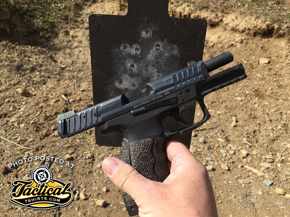 """Is your target challenging or a 4"""" wide burner you can't miss?"""