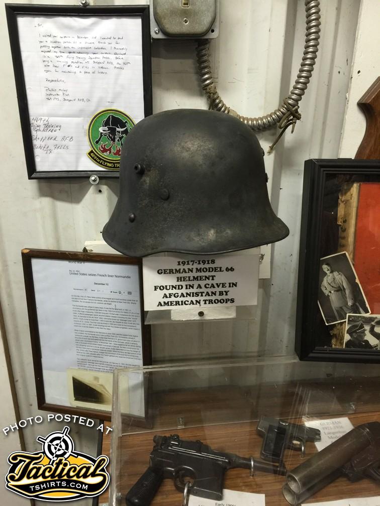 WW1 German helmet Astan
