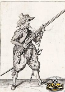 Shooter with arquebus.