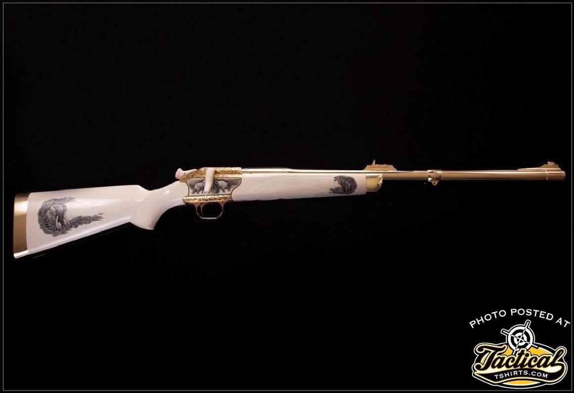 Blaser R93 375 H&H Ivory Rifle Stock