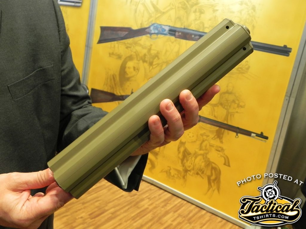 Because the magazine manually indexes, you can load each of the four chambers with different types of loads for different situations making this one of the most versatile shotguns on the market.