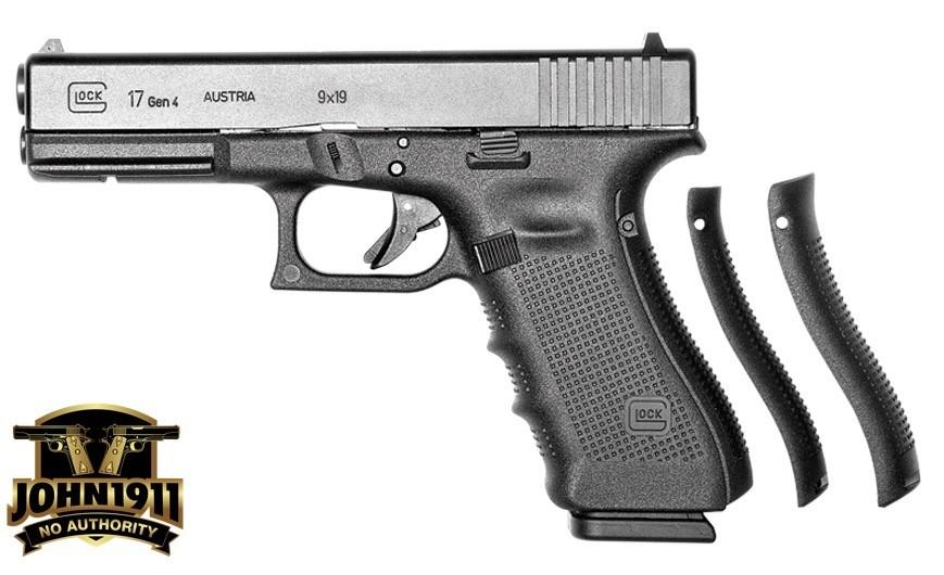 Service sized Glock G17.
