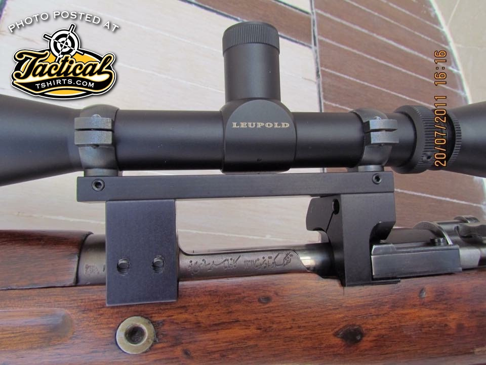 Intersting scope mount