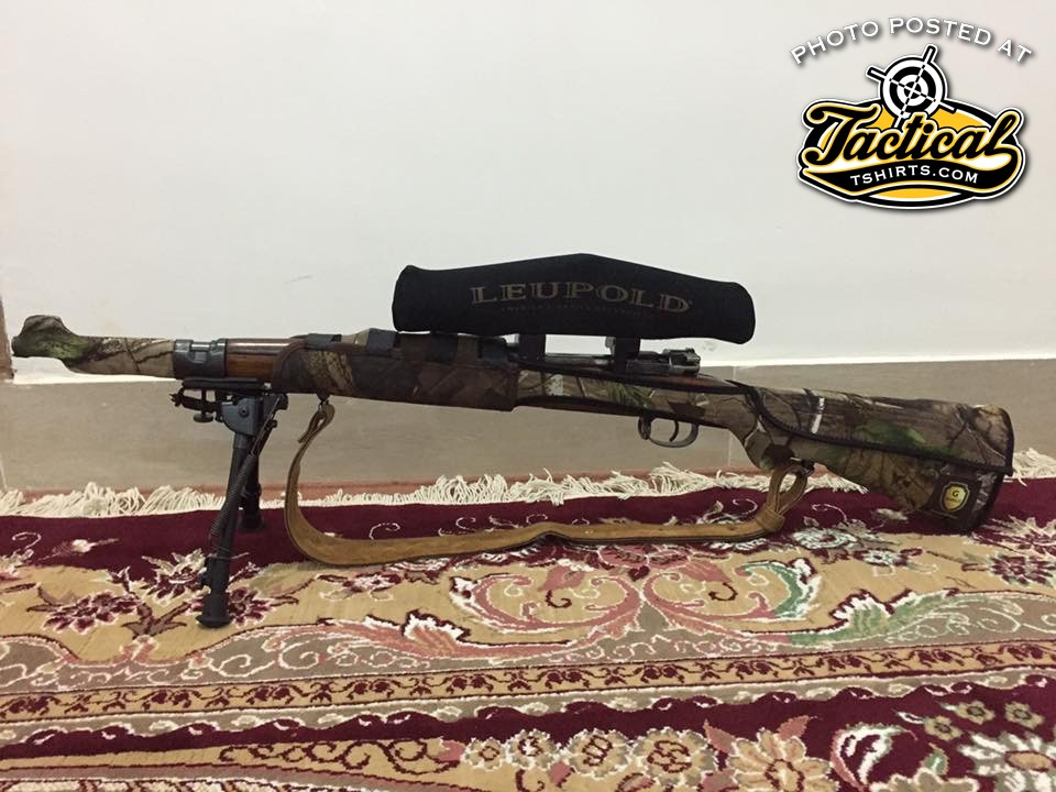 Iranian / Persian Mauser. Notice the stock wrapping.