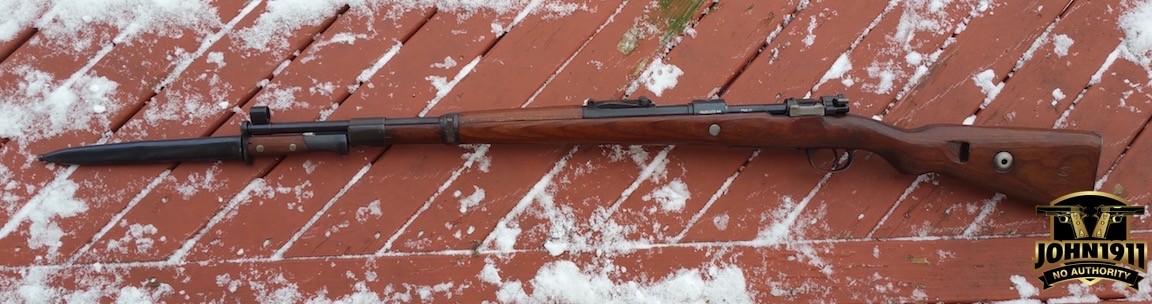 Left Side German K98 / Yugo Mauser