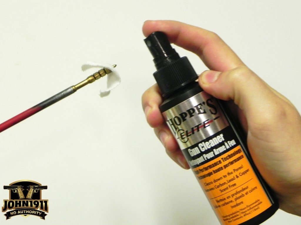 When cleaning your bore, get the carbon out first using a carbon solvent.