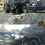 Man Rams Parked SWAT Vehicle