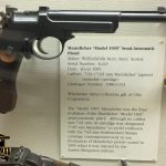 Mannlicher 1905 Pistol