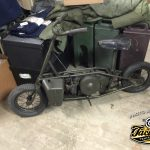 British Paratrooper Motorcycle
