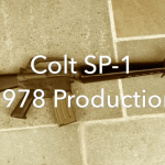 Video — Colt SP1 Upclose View