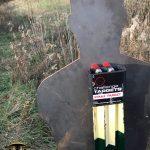 Range Update: Steel Target on T-Post