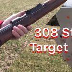 Close Range Steel Testing: 308 Caliber.